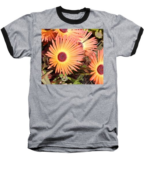 Baseball T-Shirt featuring the photograph Floral by Cathy Mahnke