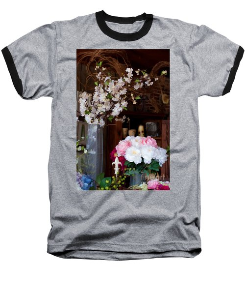 Floral Display Baseball T-Shirt