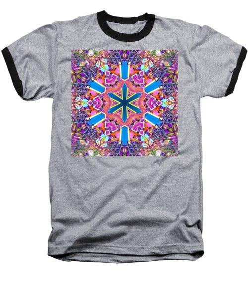 Floral Dreamscape Baseball T-Shirt