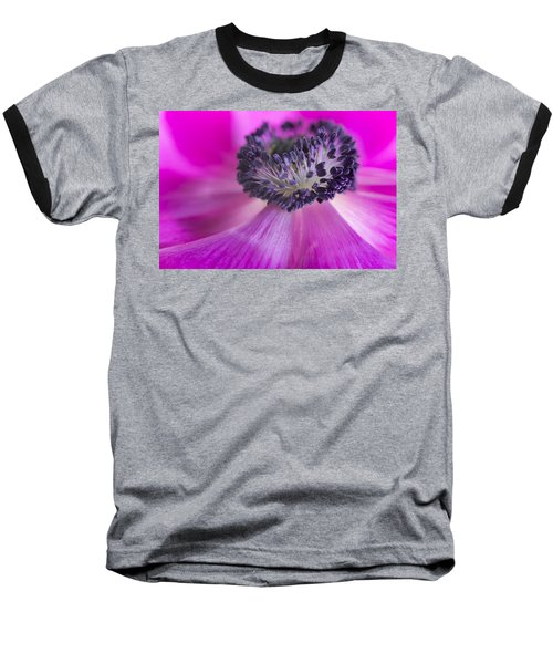 Floral Explosion Baseball T-Shirt