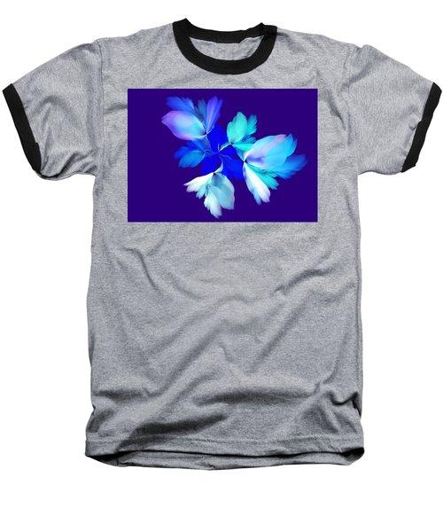 Baseball T-Shirt featuring the digital art Floral Fantasy 012815 by David Lane