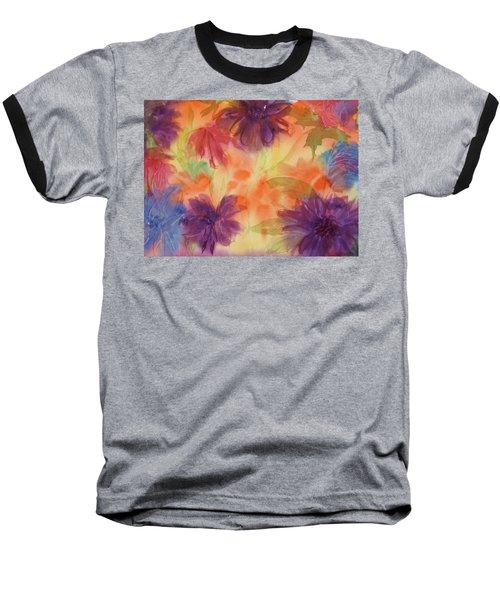 Floral Fantasy Baseball T-Shirt