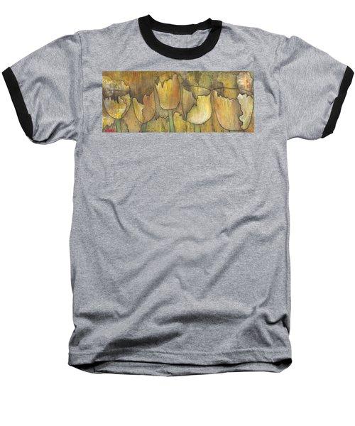 'floral Fruition' Baseball T-Shirt