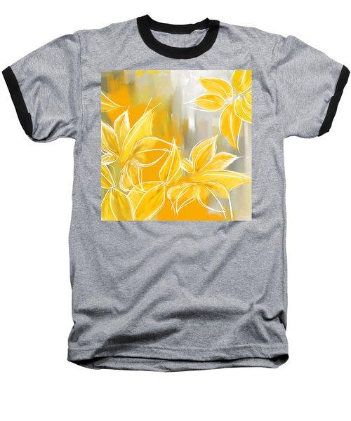 Floral Glow Baseball T-Shirt