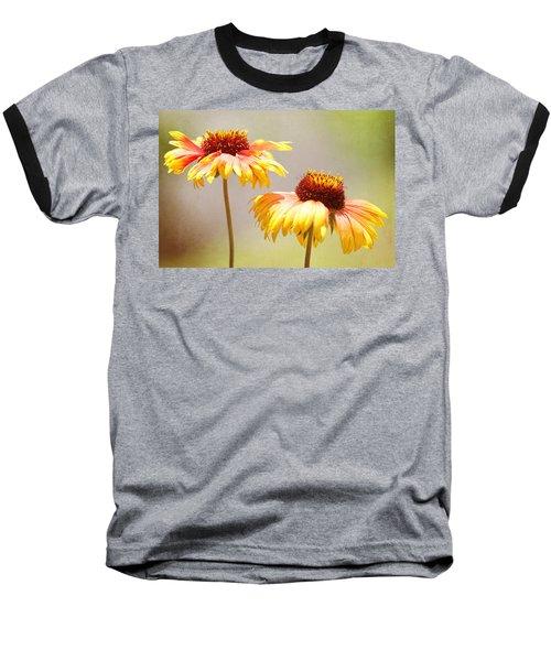 Floral Sunshine Baseball T-Shirt