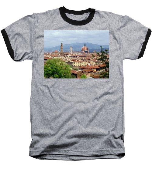 Florence Baseball T-Shirt by Ellen Henneke