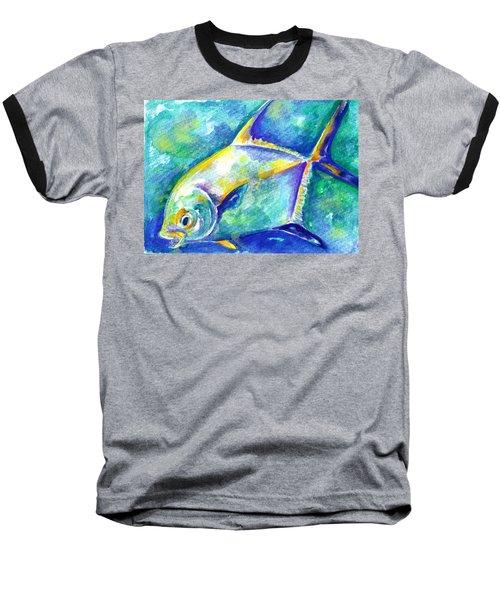 Florida Keys Permit Baseball T-Shirt