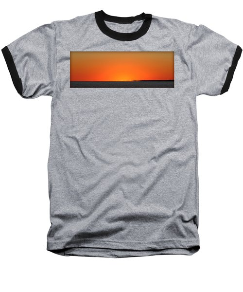 Florida Orange Baseball T-Shirt