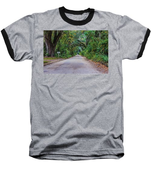 Florida Road Baseball T-Shirt by Tom Culver