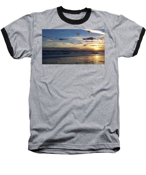 Baseball T-Shirt featuring the photograph Florida Sunrise by Ally  White