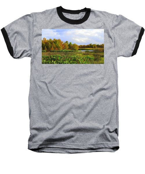 Florida Wetlands August Baseball T-Shirt