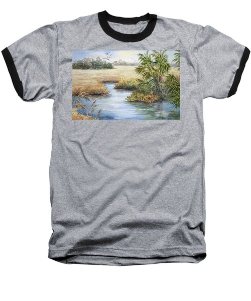 Florida Wilderness IIi Baseball T-Shirt by Roxanne Tobaison