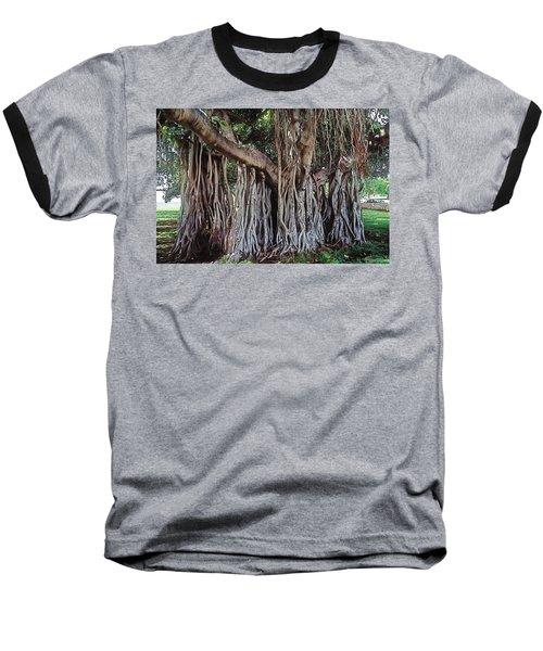 Flow Baseball T-Shirt by Terry Reynoldson