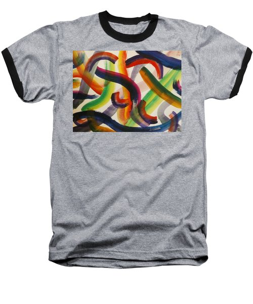 Flow Baseball T-Shirt by Thomasina Durkay