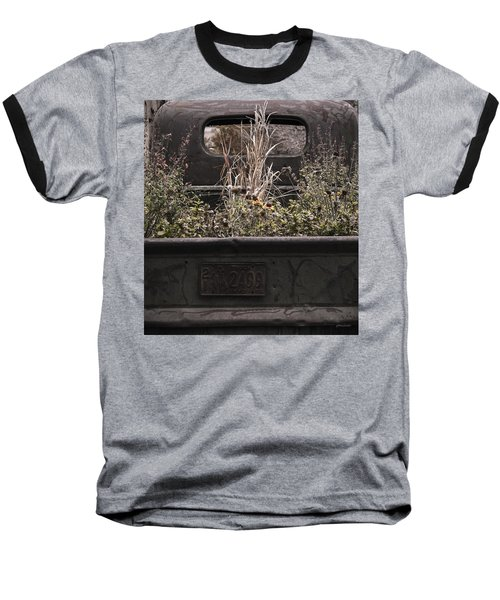 Flower Bed - Nature And Machine Baseball T-Shirt by Steven Milner