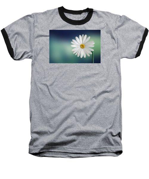 Flower Baseball T-Shirt by Bess Hamiti