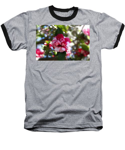 Flower Baseball T-Shirt by Bill Howard