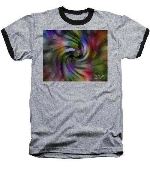 Flower Car Baseball T-Shirt