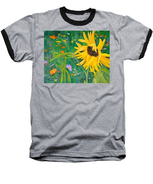 Flower Fun Baseball T-Shirt