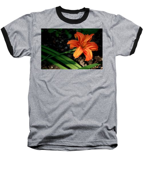 Flower In Backyard Baseball T-Shirt