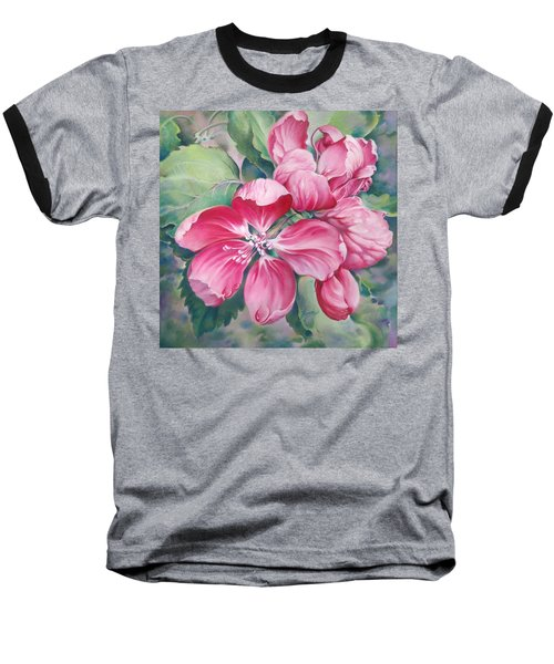 Flower Of Crab-apple Baseball T-Shirt