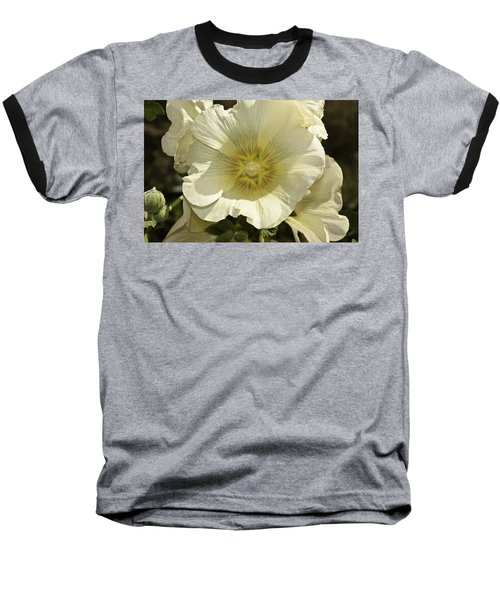 Flower Petals Of A White Flower Baseball T-Shirt