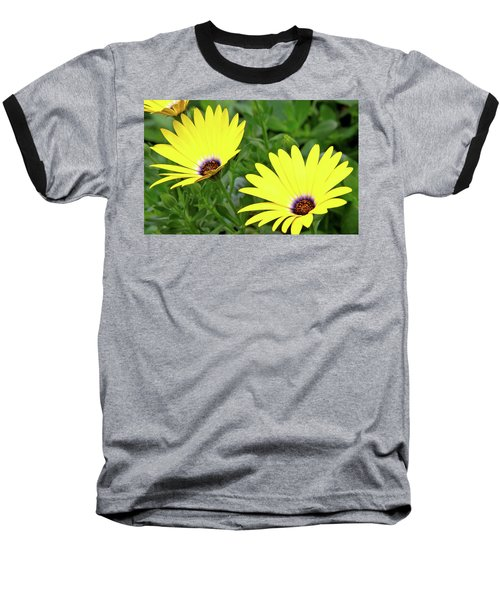 Flower Power Baseball T-Shirt by Ed  Riche