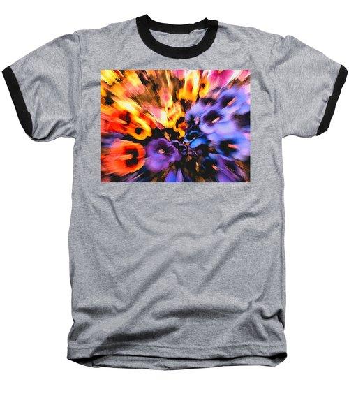 Flower Trip Baseball T-Shirt