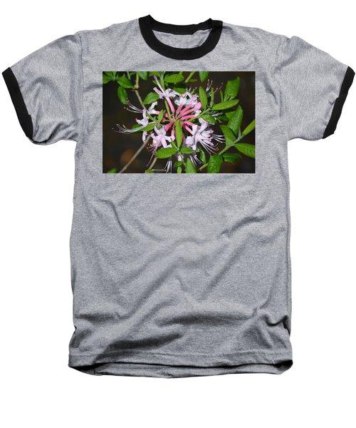 Baseball T-Shirt featuring the photograph Flower Wheel by Tara Potts