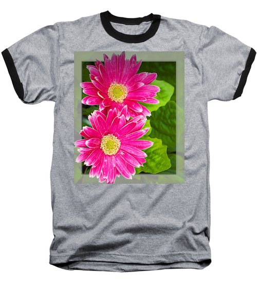 Flower1 Baseball T-Shirt