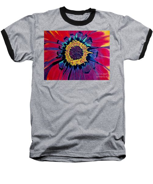 Flowerburst Baseball T-Shirt
