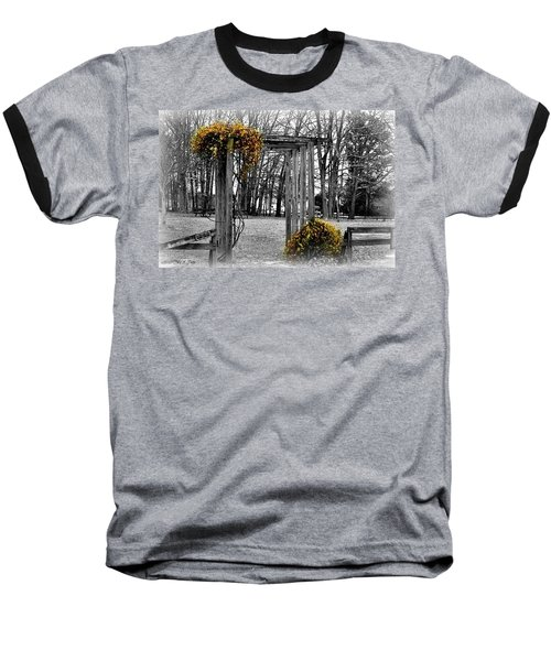 Baseball T-Shirt featuring the photograph Flowering Archway by Tara Potts