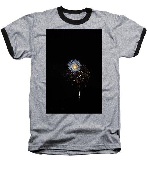 Flowering Burst Baseball T-Shirt