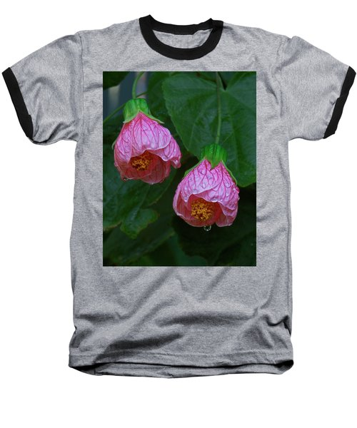 Flowering Maple Baseball T-Shirt