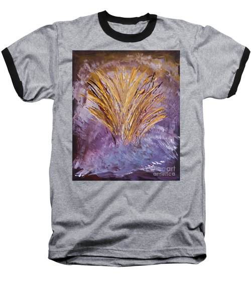 Flowering Nebula Baseball T-Shirt