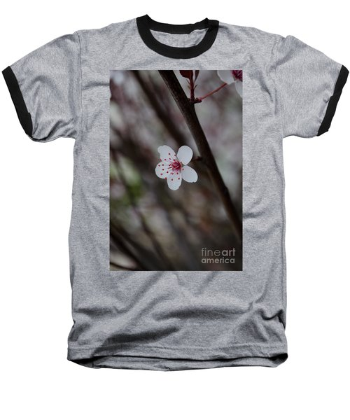 Flowering Plum 3 Baseball T-Shirt