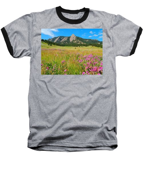 The Flatirons Colorado Baseball T-Shirt