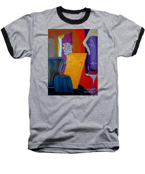 Flowers For Matisse Baseball T-Shirt by Bill OConnor