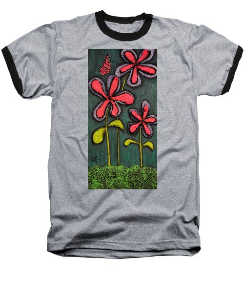 Flowers For Sydney Baseball T-Shirt by Shawn Marlow