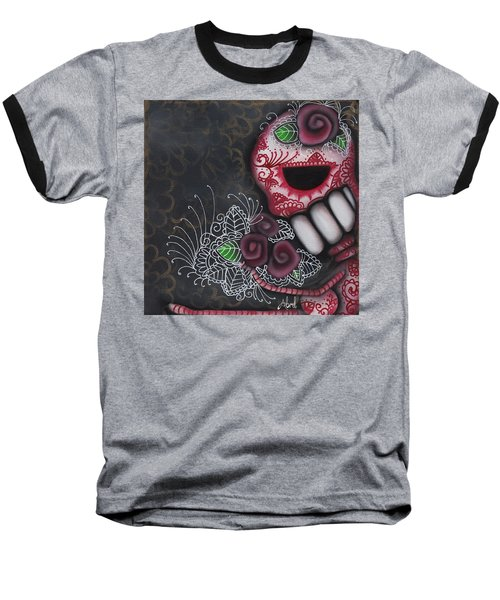 Flowers For The Dead II Baseball T-Shirt