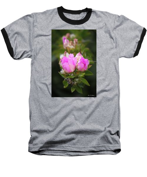 Baseball T-Shirt featuring the photograph Flowers For You by Amy Gallagher