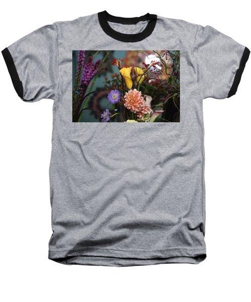 Flowers From My Window Baseball T-Shirt