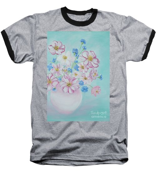 Flowers In A Vase. Inspirations Collection Baseball T-Shirt