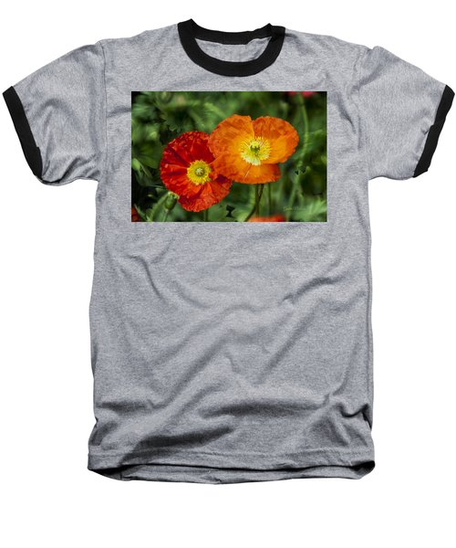 Flowers In Kodakchrome Baseball T-Shirt