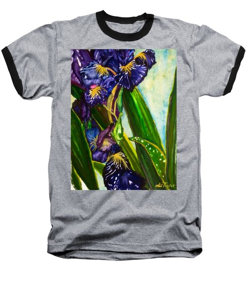Flowers In Your Hair II Baseball T-Shirt
