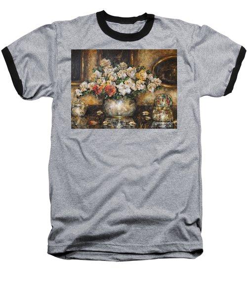 Flowers Of My Heart Baseball T-Shirt