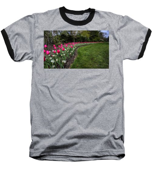Flowers Of Spring Baseball T-Shirt