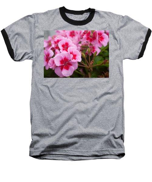 Flowers On A Rainy Sunday Afternoon Baseball T-Shirt