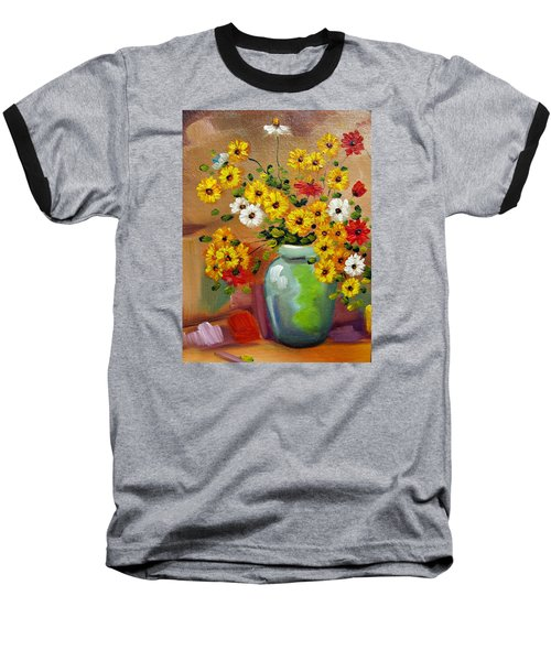 Flowers - Still Life Baseball T-Shirt