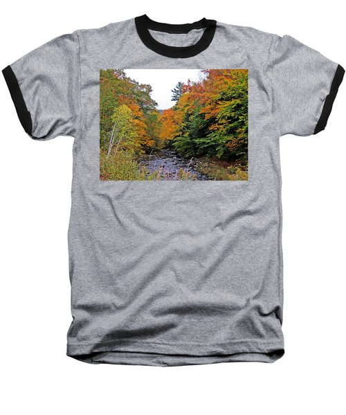 Flowing Into October Baseball T-Shirt